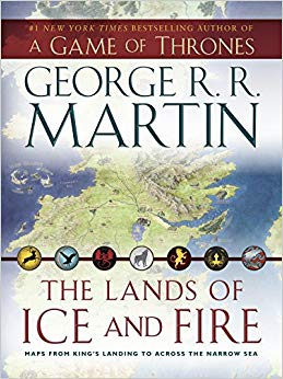 Maps from King's Landing to Across the Narrow Sea (A Song of Ice and Fire)